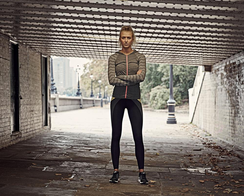 Girl power: Zanna Van Dijk is one of the leading influencers in London fitness circles / PHOTO:GARY MORRISROE