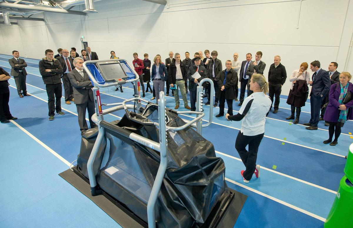 Sport Ireland offered members of the media a preview of the centre, which opens in February