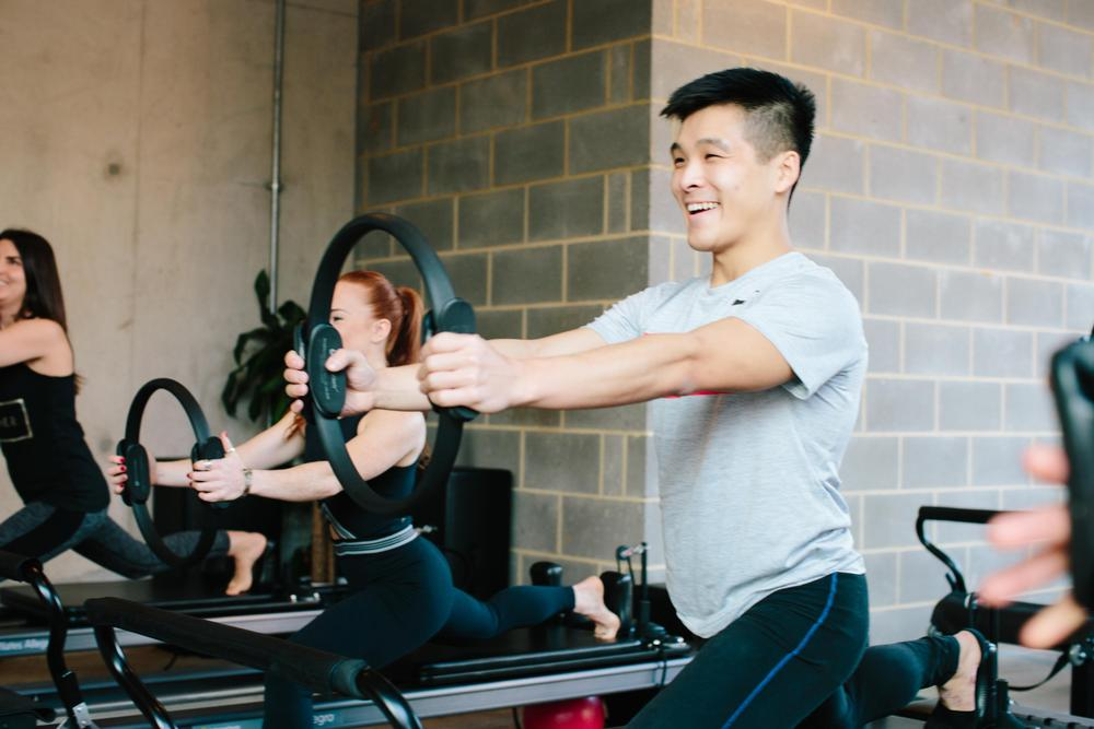 Reformer pilates is a premium Frame class
