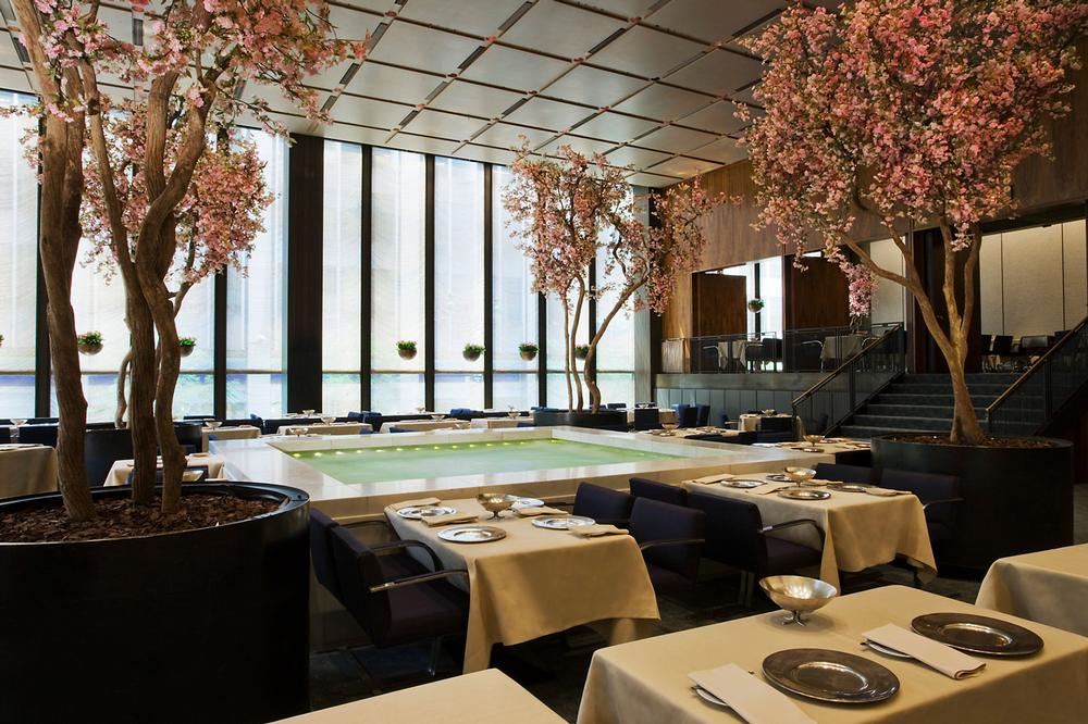 Design Classic: Philip Johnson and Mies van der Rohe's iconic Four Seasons restaurant  opened in 1959