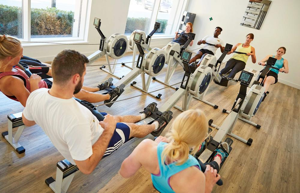 British Rowing has designed 45-minute group exercise classes that combine rowing with circuit-based exercises