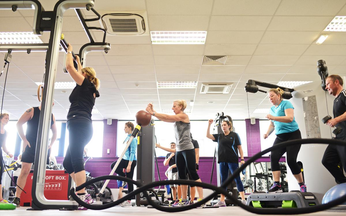 All four sites are now offering members a new timetable of short 20-minute functional workouts on the gym floor