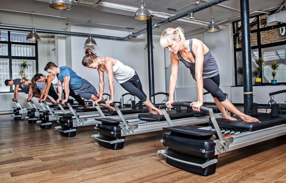 Studios are increasingly offering at least two different programming formats. London's Heartcore offers pilates, yoga, TRX and barre