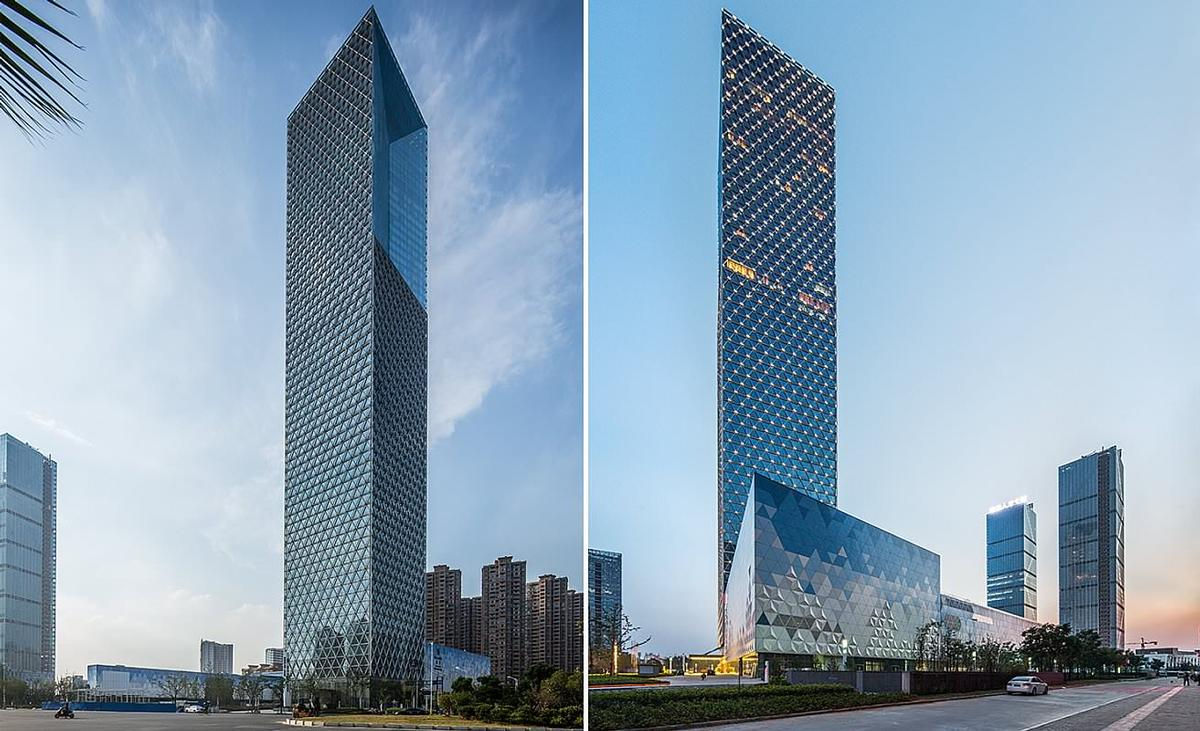 SOM included high performance architecture and engineering elements that have won the tower LEED Silver accreditation / SOM