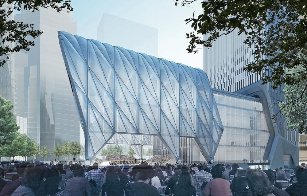 The Culture Shed in New York will host a variety of exhibitions and events