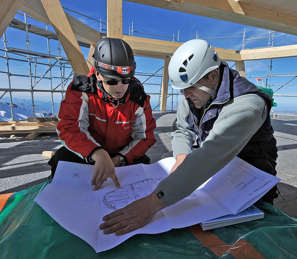 The project demanded that architects and engineers worked in very close partnership