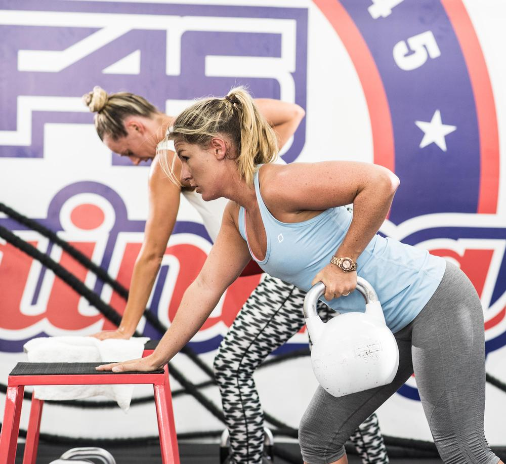 F45 is a functional, results-driven, full body workout aimed at busy people