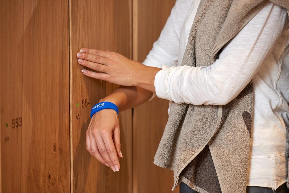 GANTNER's technology means no more lost locker keys or PINs