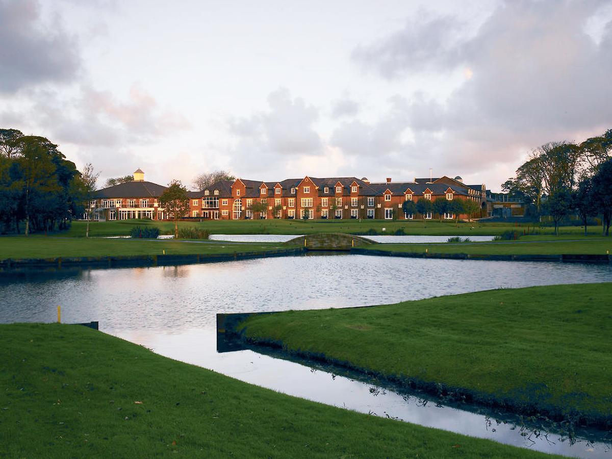 The golf operation includes an 18-hole parkland championship par course, 9-hole par-3 course, driving range and a PGA Academy