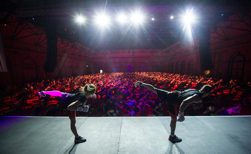 The Les Mills GFX Series in 2014 welcomed more than 6,000 people to events across the UK and Ireland