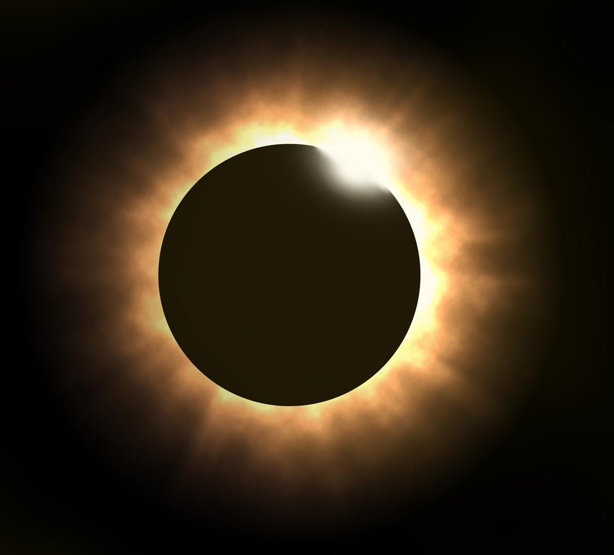 The eclipse is expected to see up to 98 per cent of the sun disappear across parts of northern Scotland