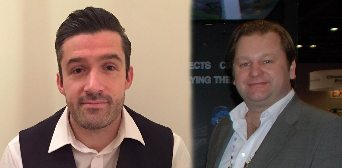 Ed Pawley (right) has been promoted to sales director, while Andy Gray (left) comes in as business development manager