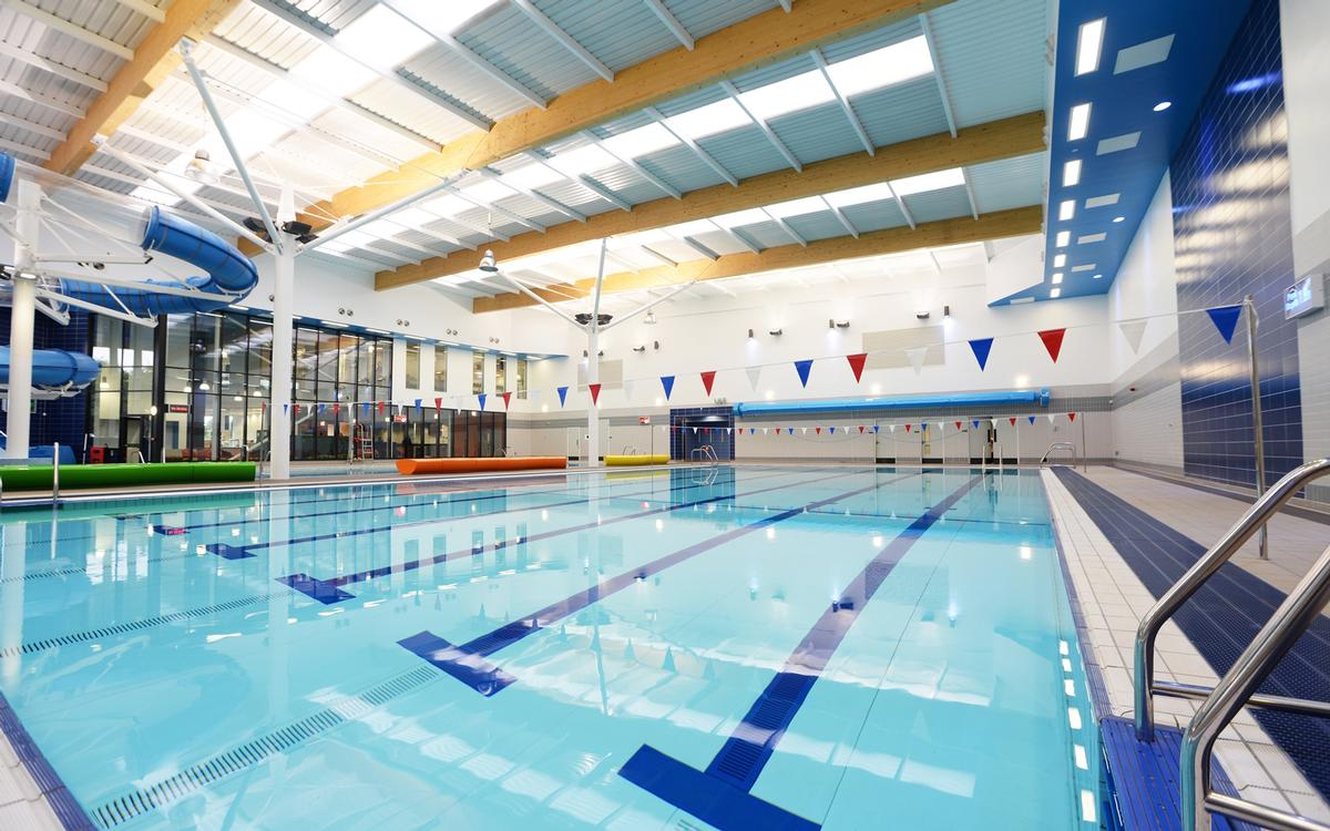 Facilities at the new centre include the largest pool provision in County Durham