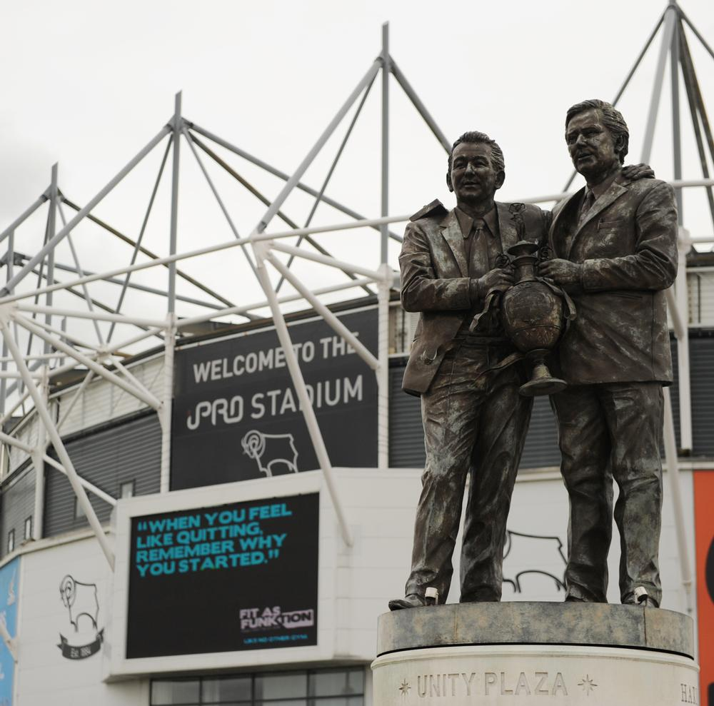 Derby County's iPro Stadium was singled out for praise for its facilities / Ryan Browne/EMPICS Sport