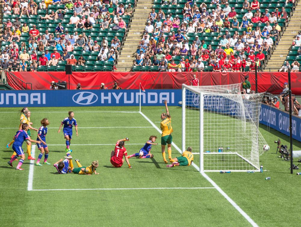 The FIFA Women's World Cup generated unprecedented interest in women's football, with games beamed live to more than 100 countries
