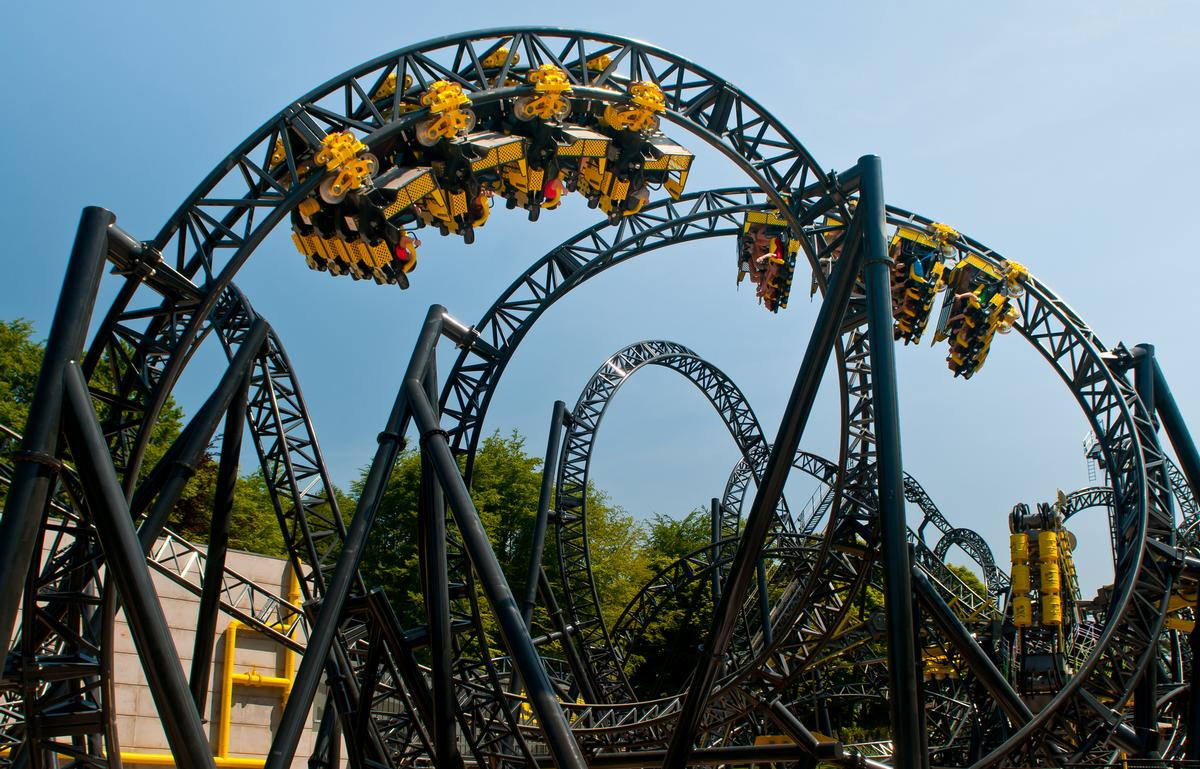 The Smiler accident has seen visitors stay away from Merlin's UK theme parks during the summer months / Merlin Entertainments