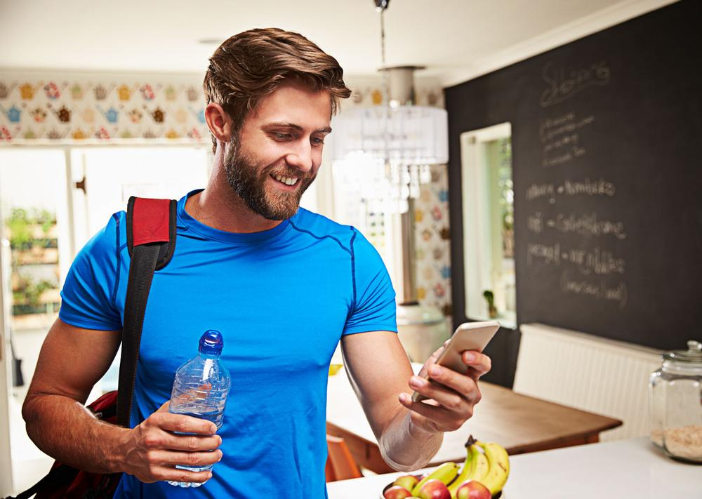 Millennials like to search, view and book classes via their mobiles / shutterstock