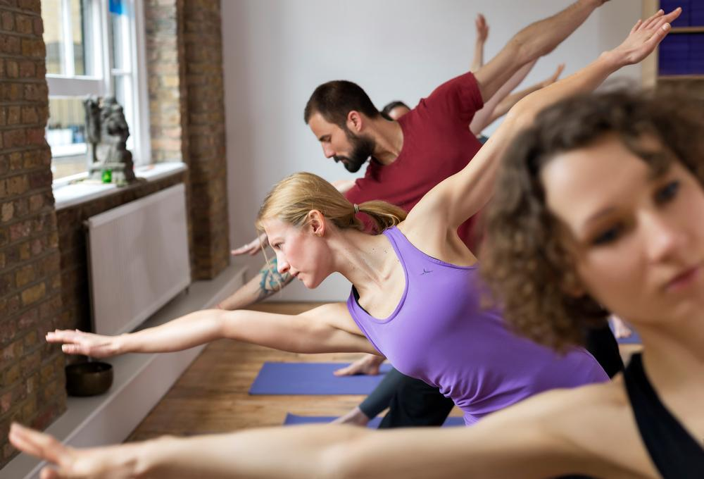 triyoga clients often choose to combine  dynamic classes with restorative classes