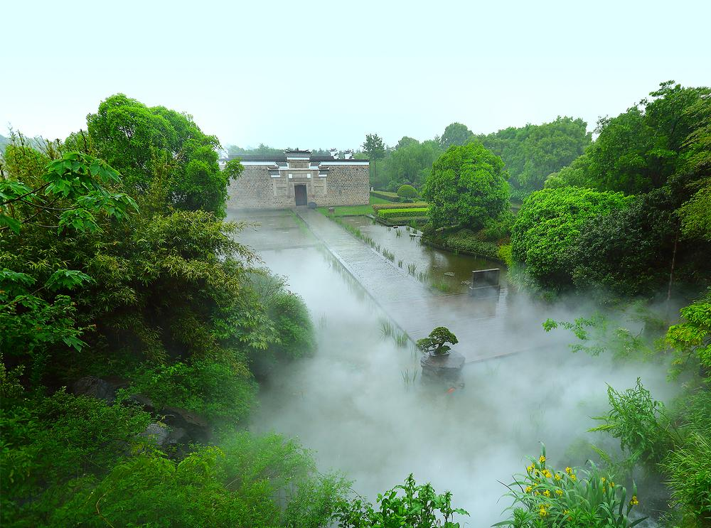 Amanyangyun – yangyun means 'nourishing cloud' – is Aman's fourth destination in China, located not far from Shanghai