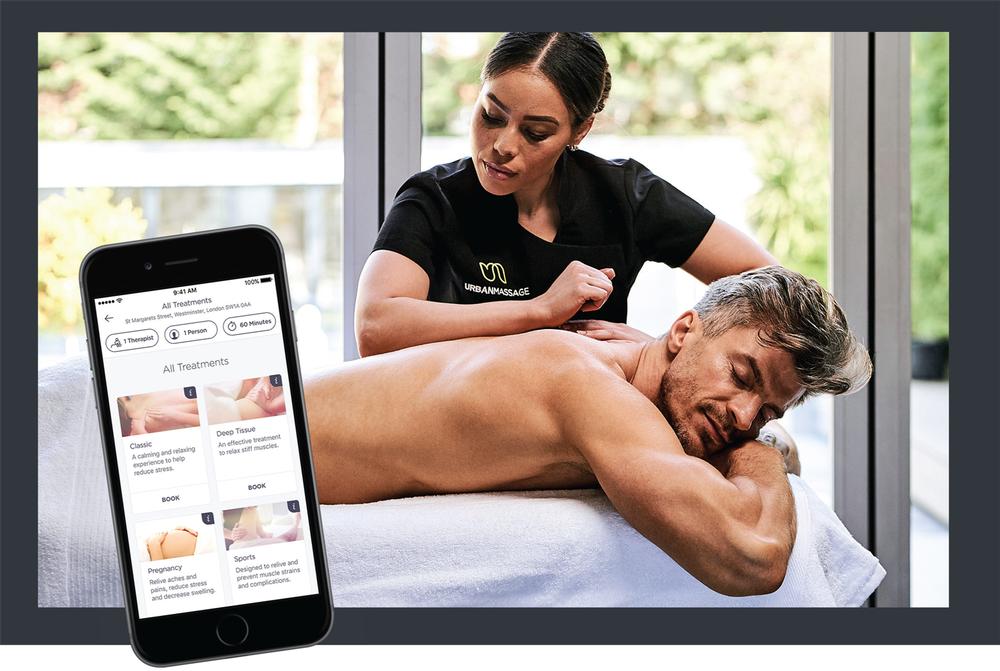 Companies like  Urban Massage are already following a 'wellness without walls' philospophy