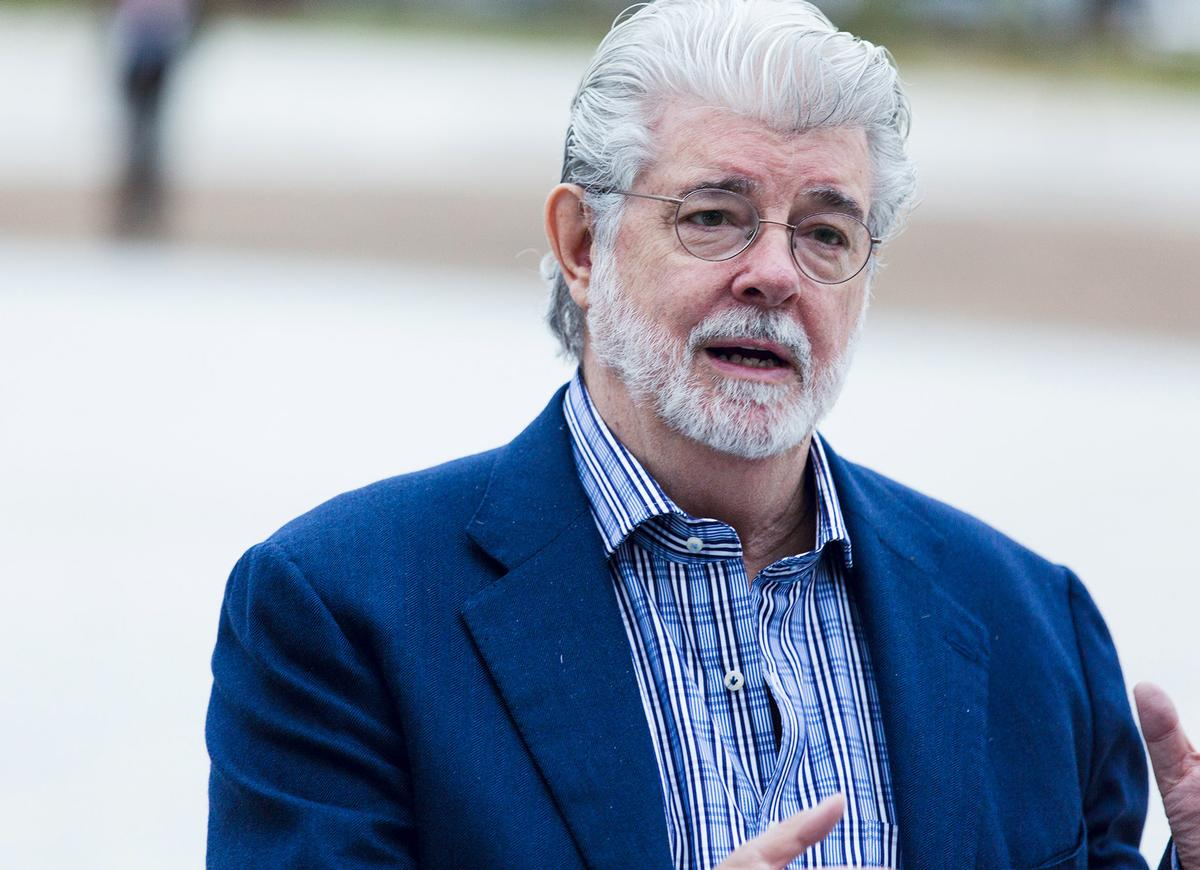 Star Wars creator George Lucas was another of the guests / Garage Museum of Contemporary Art