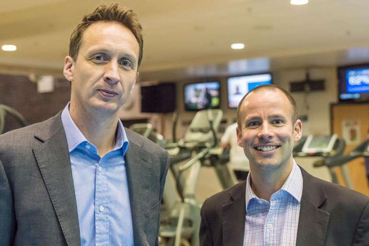 Rob May (left) and Craig Potter want to harness technology to reach learners in new ways