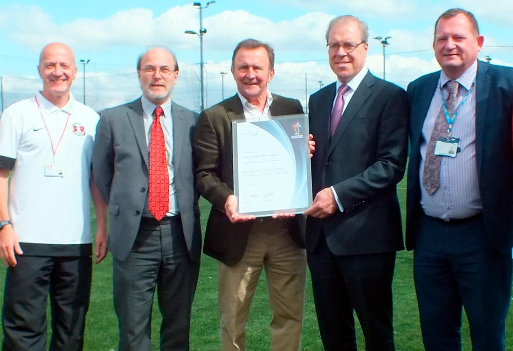 The Coping Through Football project in Waltham Forest received an UEFA award this year