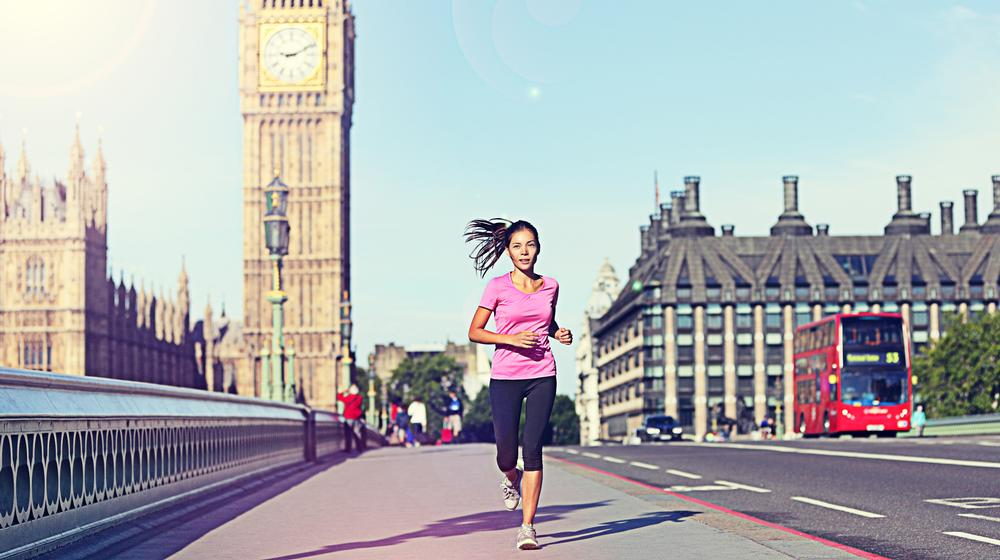 Fitness First Home Run offered bag-carrying and guided routes for Londonders to run home from work / PHOTOS: SHUTTERSTOCK.COM