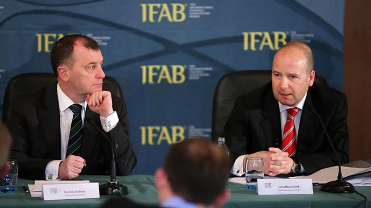 IFAB's Annual General Meeting took place in Cardiff  / IFAB