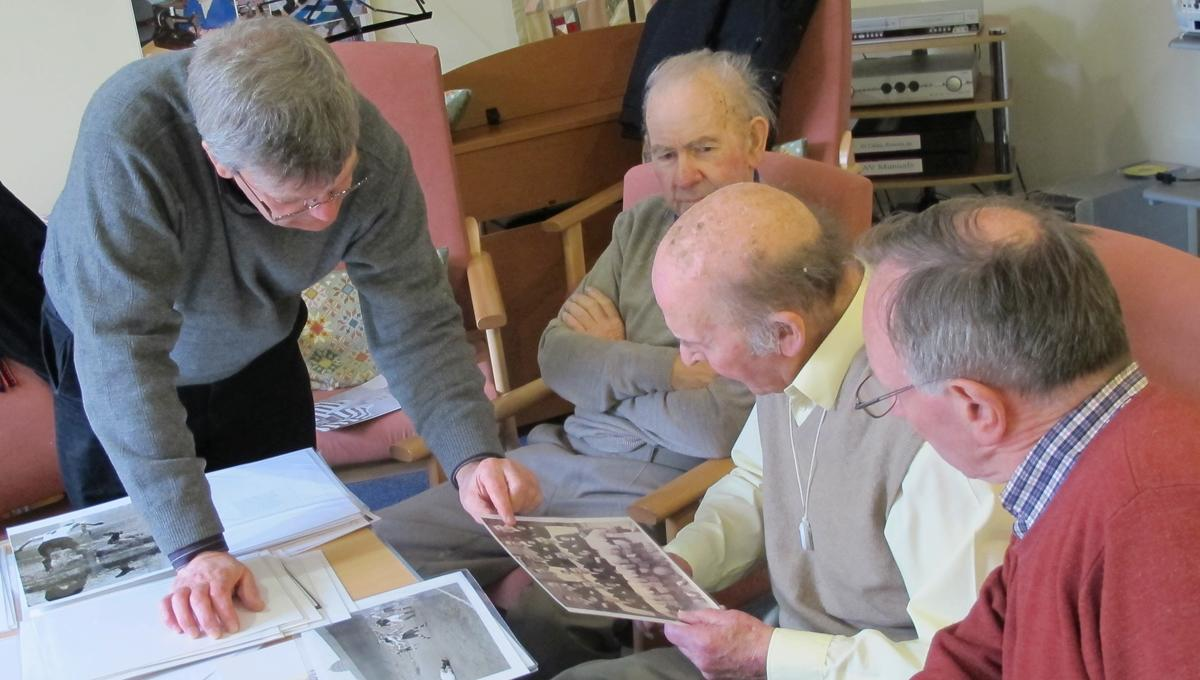 The foundation uses iconic imagery, video and audio to tackle loneliness and dementia / Sporting Memories Network