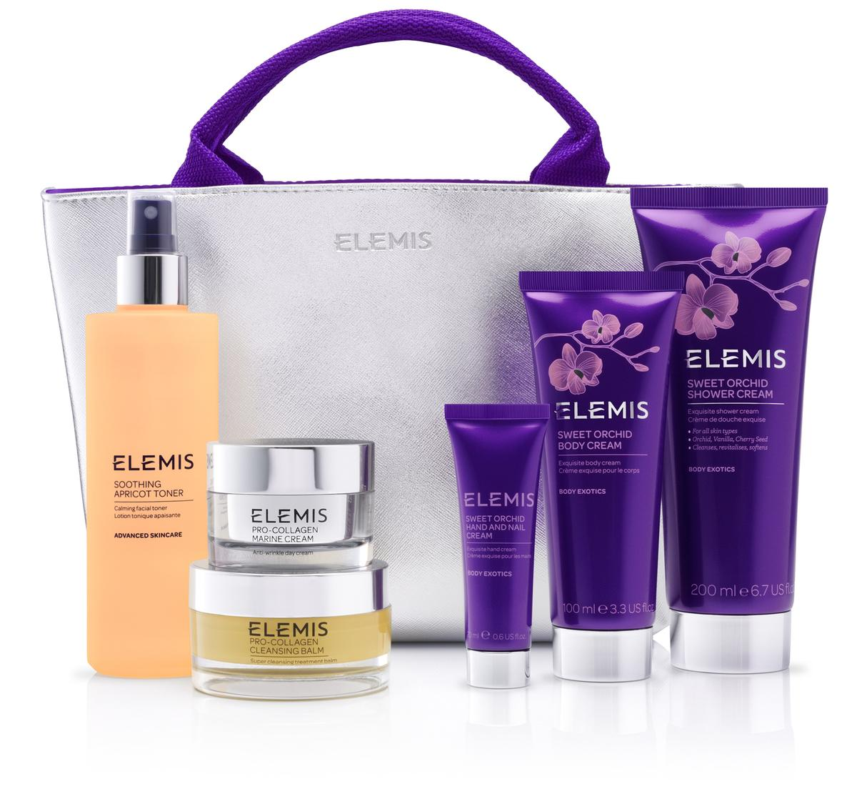 Elemis used QVC for the global launch of a new Sweet Orchard fragrance, which will only be available at QVC UK until May 2016 / Elemis