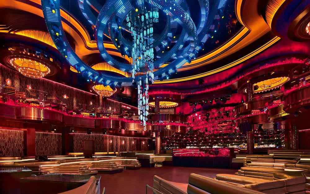The group designed a high-tech space for Omnia at Caesar's Palace / IMAGE: FRANCIS & FRANCIS/HAKKASAN GROUP