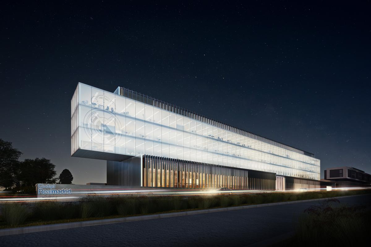The new commercial headquarters of Real Madrid will be designed by Spanish studio Rafael de La-Hoz / Rafael de La-Hoz