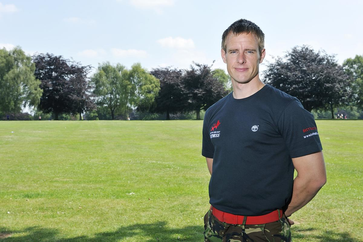 BMF head of operations Garry Kerr, who previously served in the armed forces for eight years