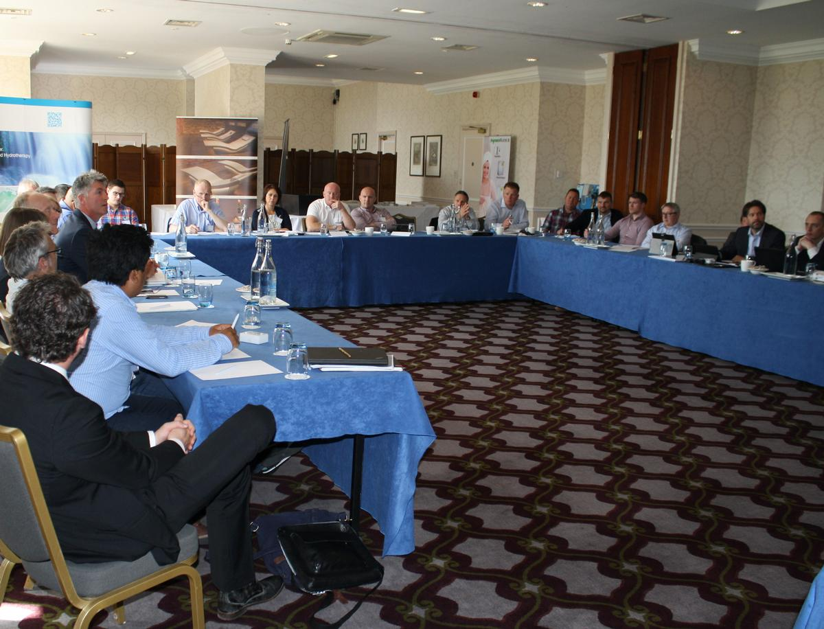 Twenty-one industry delegates attended the forum / The Hydrothermal Spa Forum