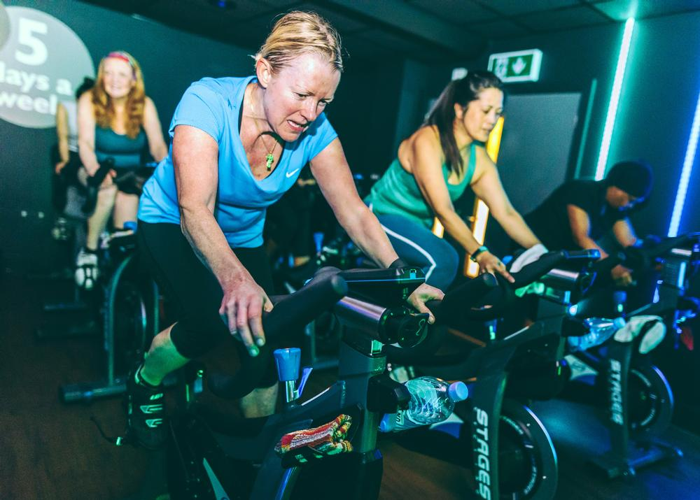 Tracking is suitable for group cycling classes as they are heart-rate based