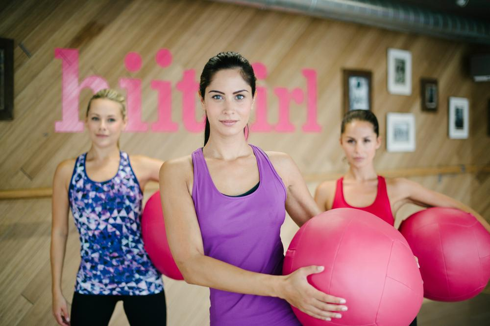 Hiitgirl offers 121 sessions in the daytime to create a varied and flexible schedule