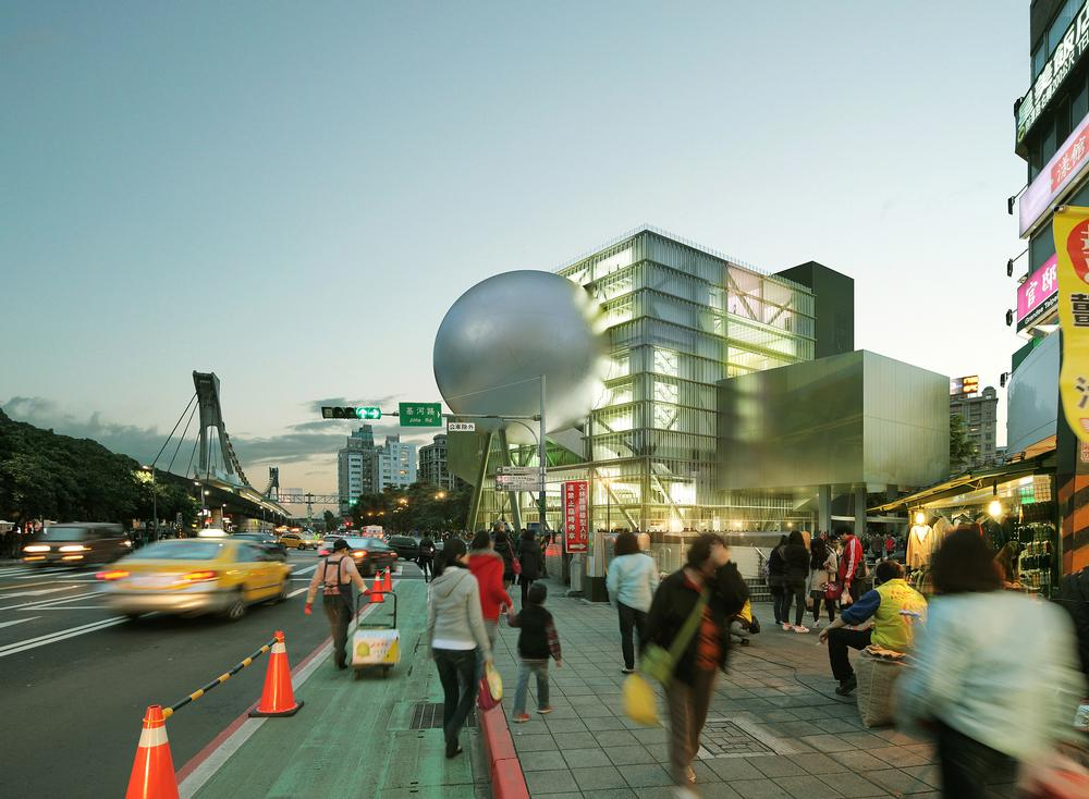 The Taipei Performing Arts Centre builds on OMA's past theatre work / Images TPAC: ©OMA