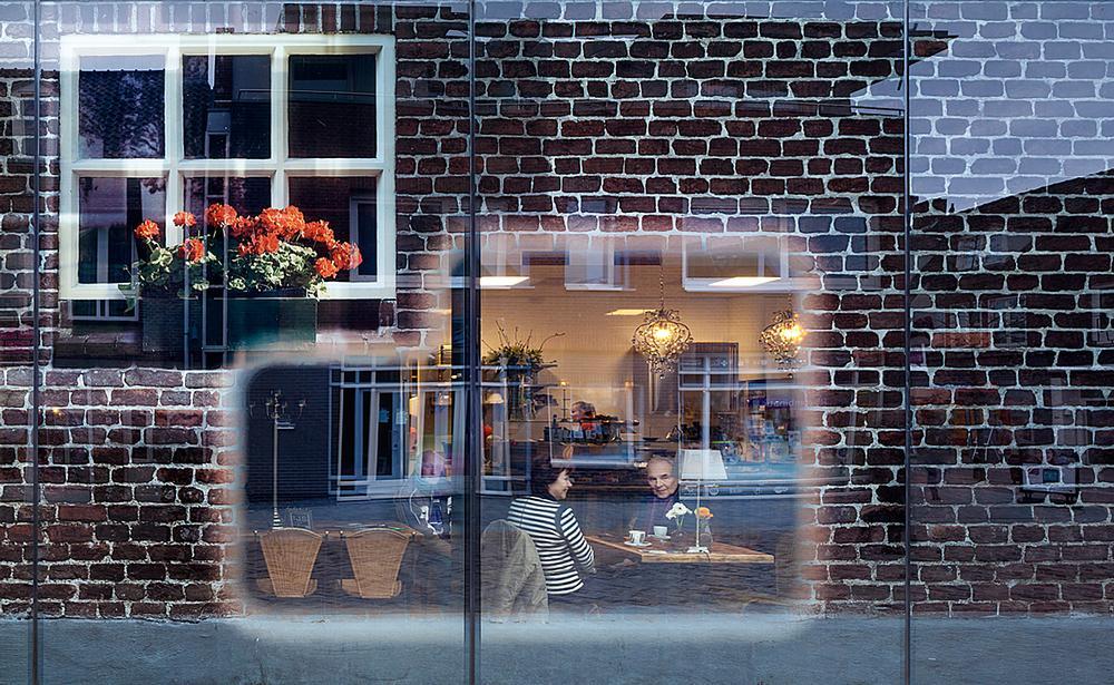 The Glass Farm, Schijndel features a printed glass façade