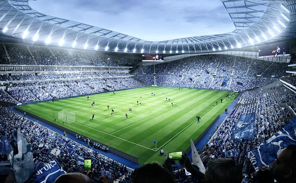 The design will allow regular NFL games to take place during the English football season / populous