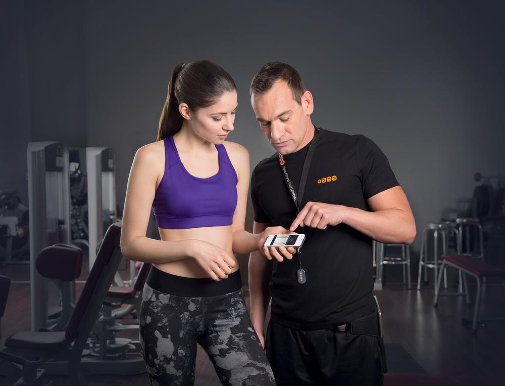 Members access valuable data via the eGym Fitness App