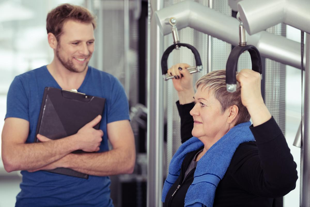 The study offers positive evidence that strength training in older adults is beneficial beyond improving muscle strength and physical function / Shutterstock.com / racorn