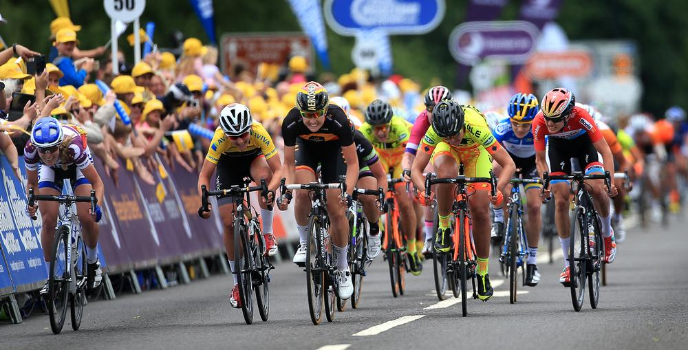 Tour of Britain generated around £6m for Suffolk's local economy / image ©: nick [ptts / press association