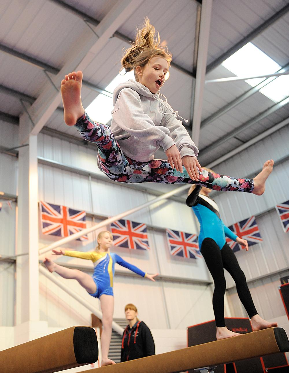 The new Jump into Gymnastics programme aims to give children a great first experience of the sport