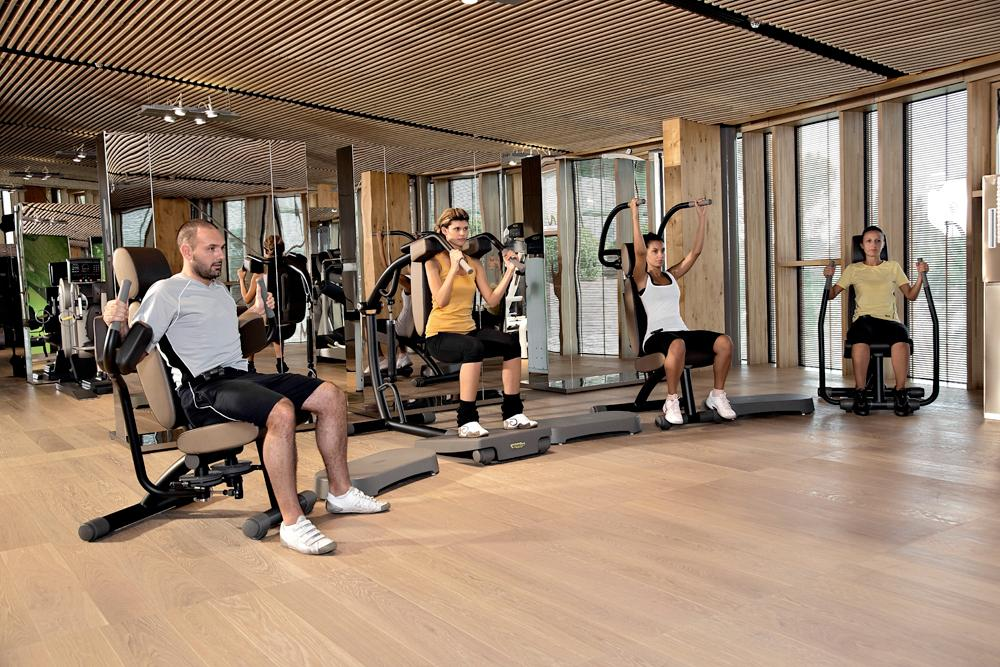 Staff can take a two-hour lunch break if they wish to work out