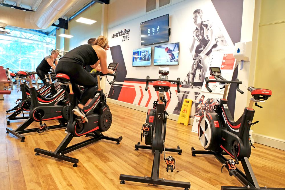 While some clubs are opting for dedicated Wattbike studios, others are creating special zones on the gym floor