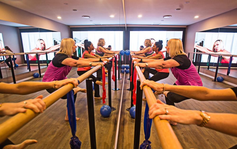 Club W Sydney has four studios offering a range of virtual classes, with 200 start times each day