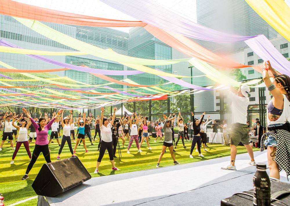 The company is targeting the active lifestyle community in first and second tier Chinese cities