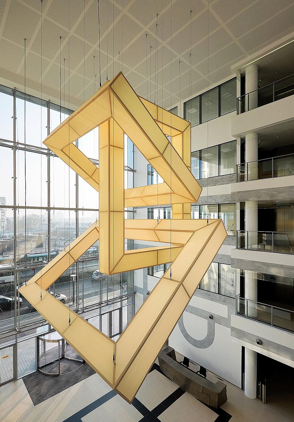 SCENEO's officebuildingin Bezons, France, was awardedWELLcertification