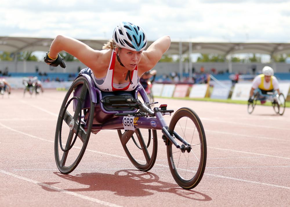 Wheelchair athlete Hannah Cockroft is among the Paralympians to have become household names / image ©: steven paston / press association